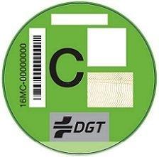Etiqueta Verde medioambiental de la DGT