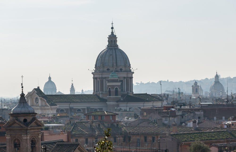 Vista general del skyline de Roma