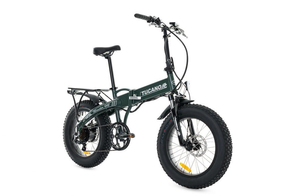 Bicicleta eléctrica plegable de montaña Monster HB Tucano Bikes